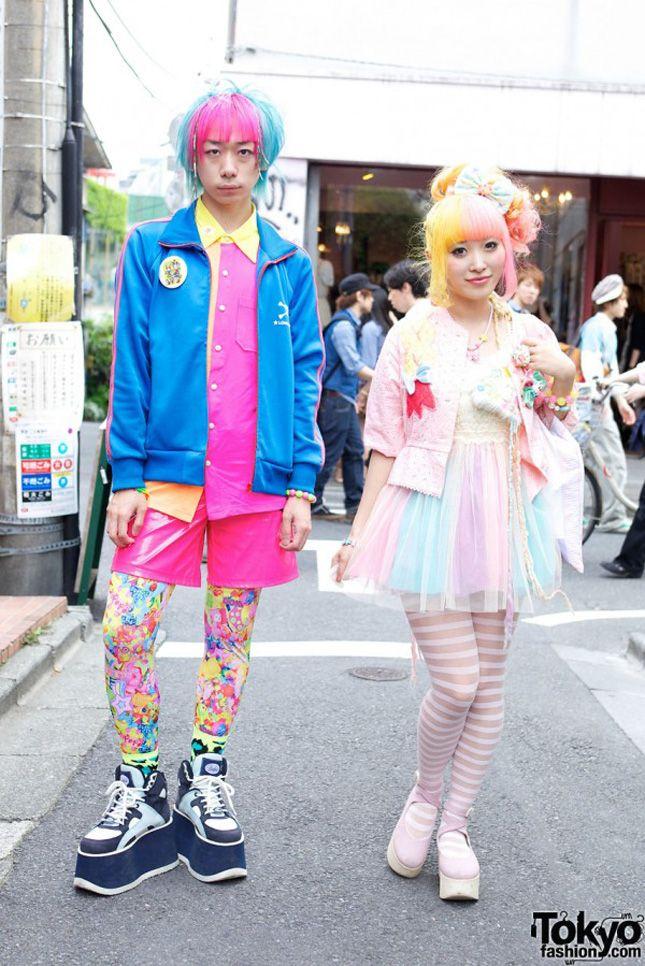 Fashion geek : les 35 looks japonais les plus originaux Question : Sont-ce des déguisements ou des tenues ordinaires ???