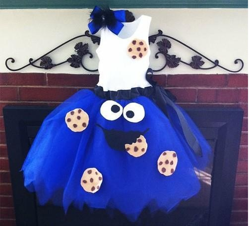 found an awesome cookie monster dress
