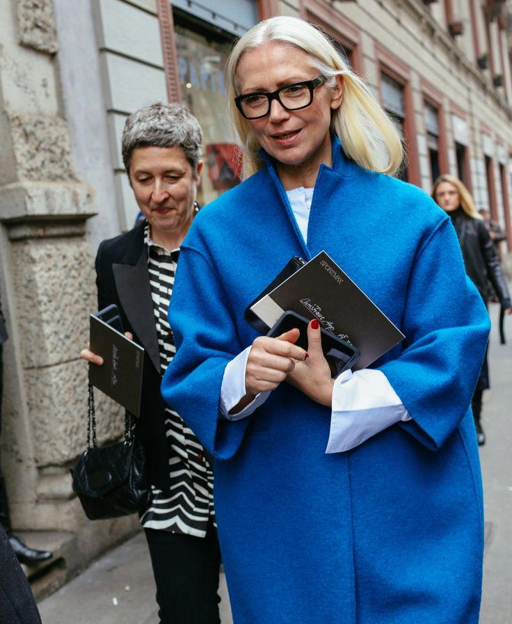 Milan Fashion Week Street Style - Christiane Arp