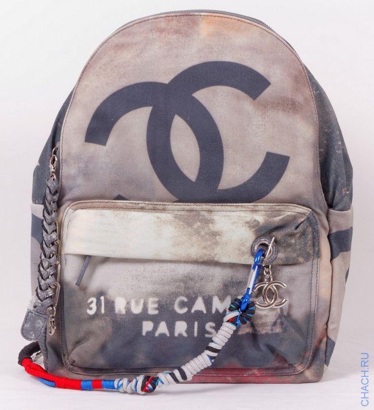 Рюкзак Chanel GRAFITI BACKPACK темно-серый