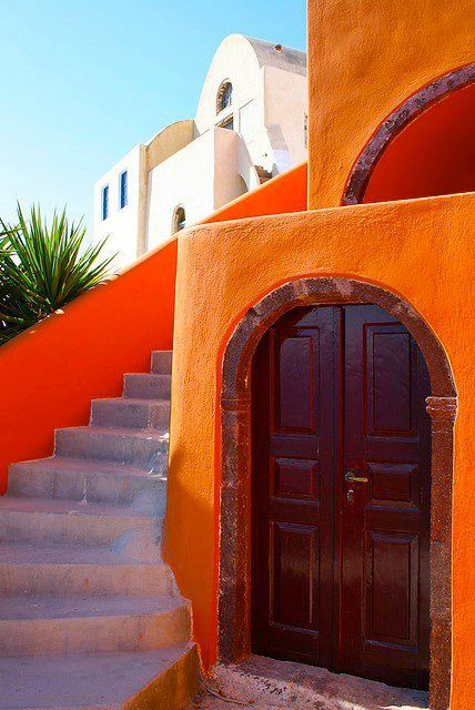 Colourful Santorini~Greece