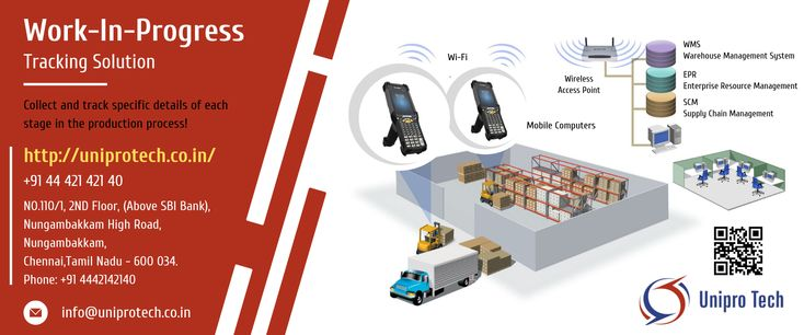 Work In Progress Tracking Solution Mobile Computing Warehouse Management Data Capture