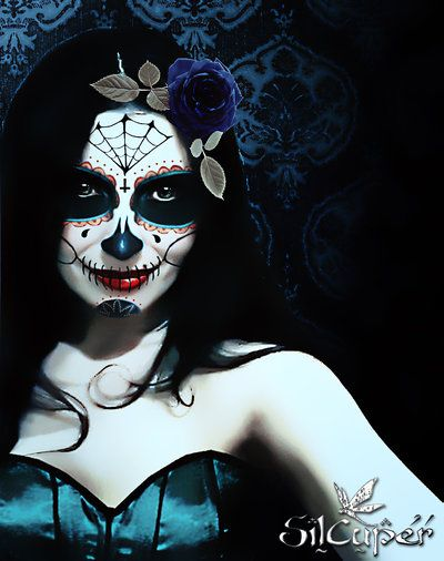 Day of the Dead IV by ~silcuper on deviantART