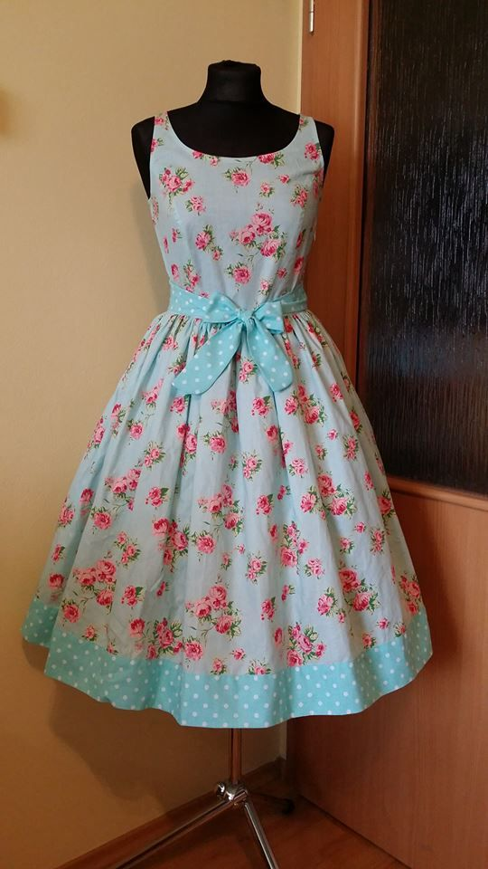 New Madame Muffin dress...it still has MM tags, but  the design is for my future project - Pretty Housewife!