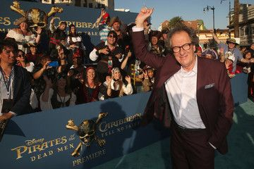 Geoffrey Rush Premiere of Disney's andnd Jerry Bruckheimer Films' 'Pirates Of The Caribbean: Dead Men Tell No Tales'