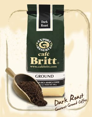 Britt's Costa Rican Dark Roast is the reason why the world loves Costa Rican coffee – its taste is as enticing as its aroma. Our experts select the beans for this classic blend from different parts of the Central Valley, where a combination of climate and soil produce the world's best coffees. $9.95