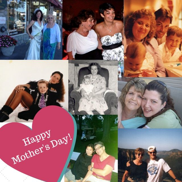 Happy Mother's Day Weekend from the DOM Staff! Here's a collage of us with our moms. Have an awesome weekend! :)  #happymothersday