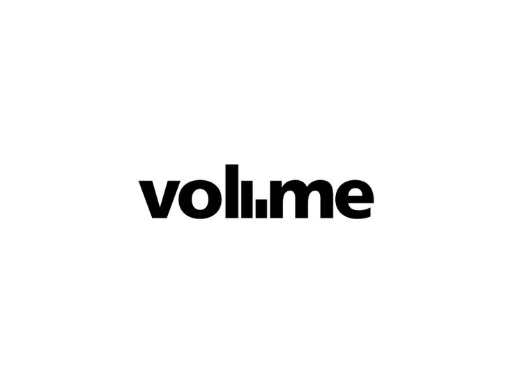 Volume Logo / Negative space