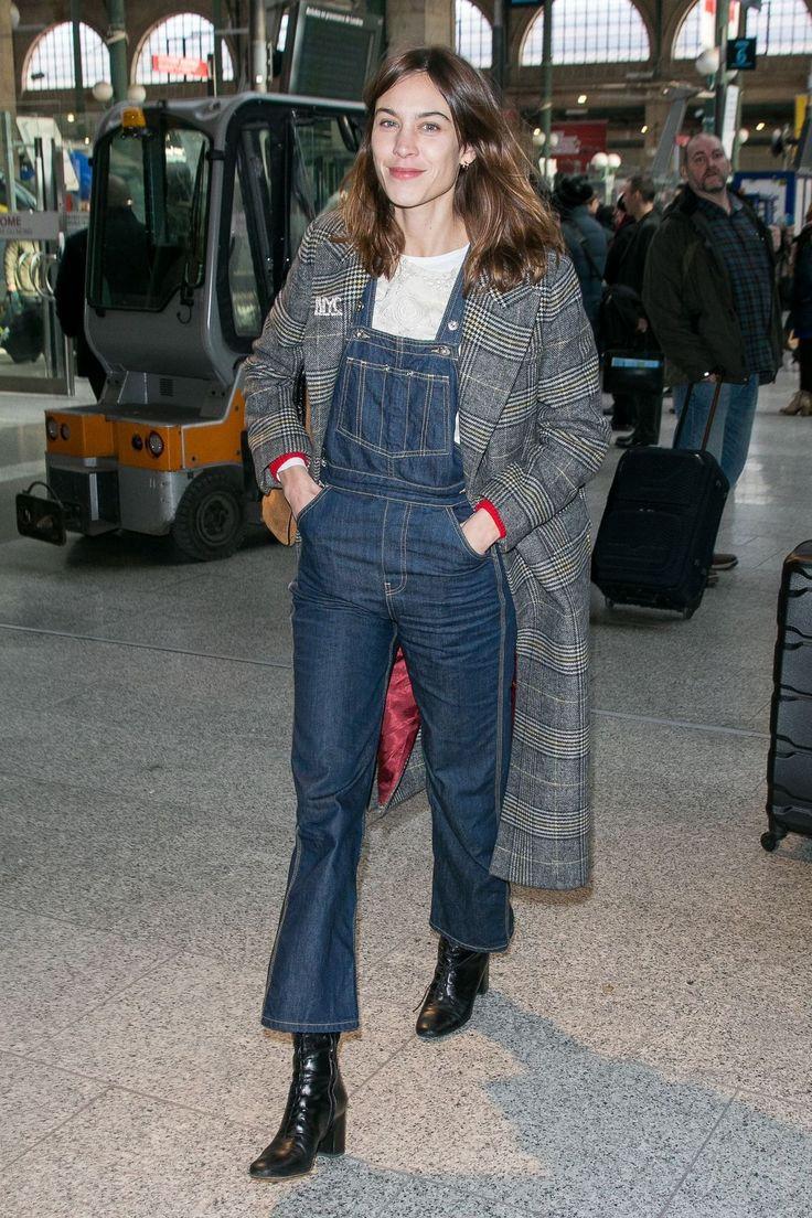 chungit-up: Alexa Chung arrives at Paris |... - Alexa Chung
