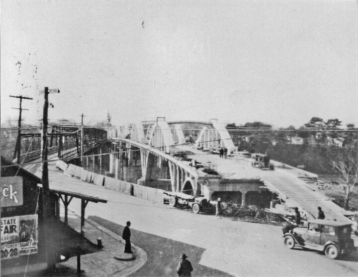Building the bridge in downtown wetumpka alabama my - Southern homes and gardens montgomery al ...