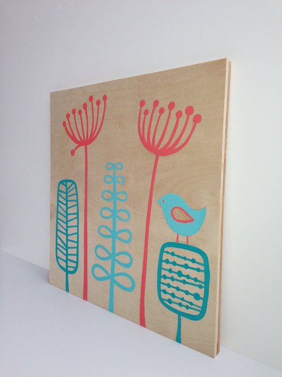 Hey, I found this really awesome Etsy listing at http://www.etsy.com/listing/156290003/original-aqua-coral-nursery-art-coral