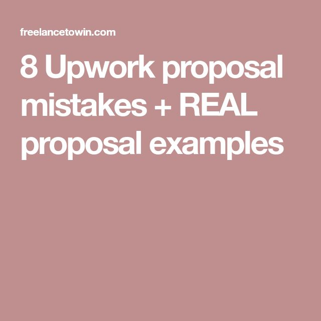 The  Best Proposal Example Ideas On   Project