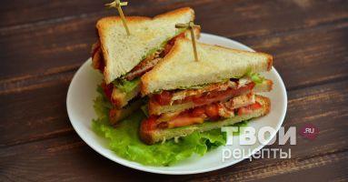 """""""Сэндвич"""" - cамый вкусный рецепт :)"""