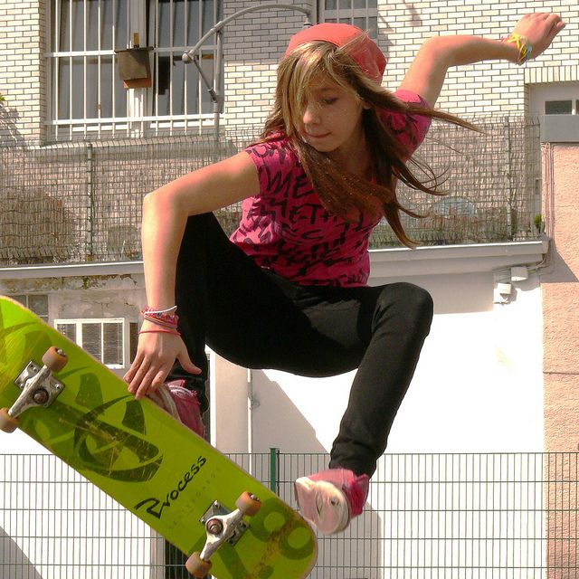 Skateboarding Girls