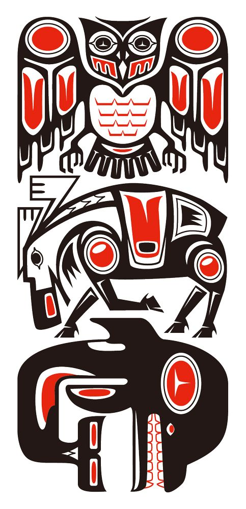 Haida Style Tribal by Takihisa on DeviantArt