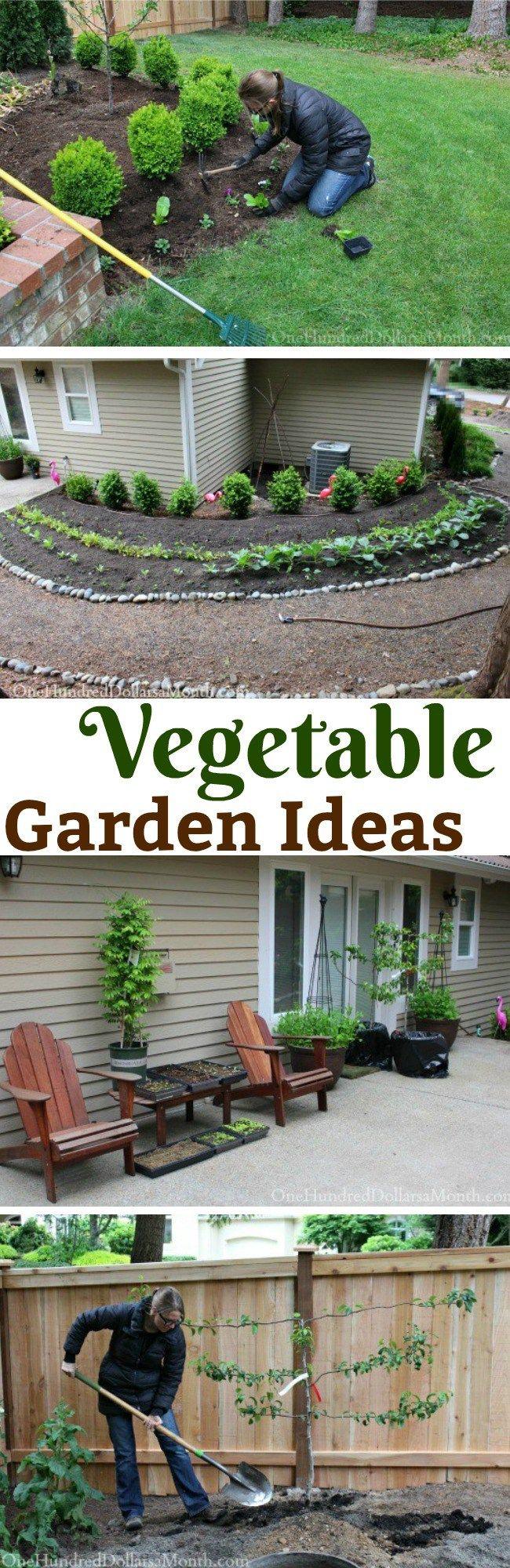 vegetable gardens ideas