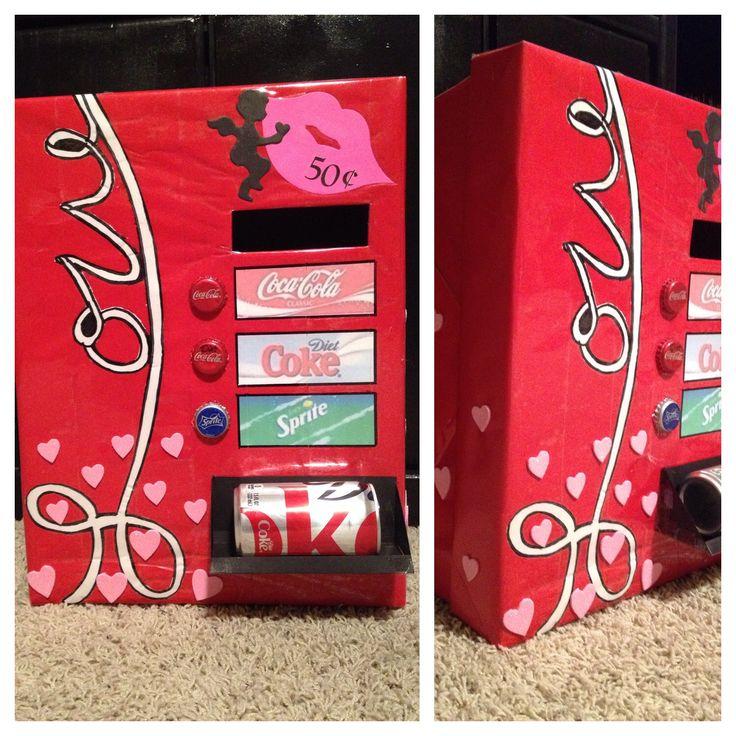 vending machine valentine box valentines pinterest valentines valentine box and boxes. Black Bedroom Furniture Sets. Home Design Ideas