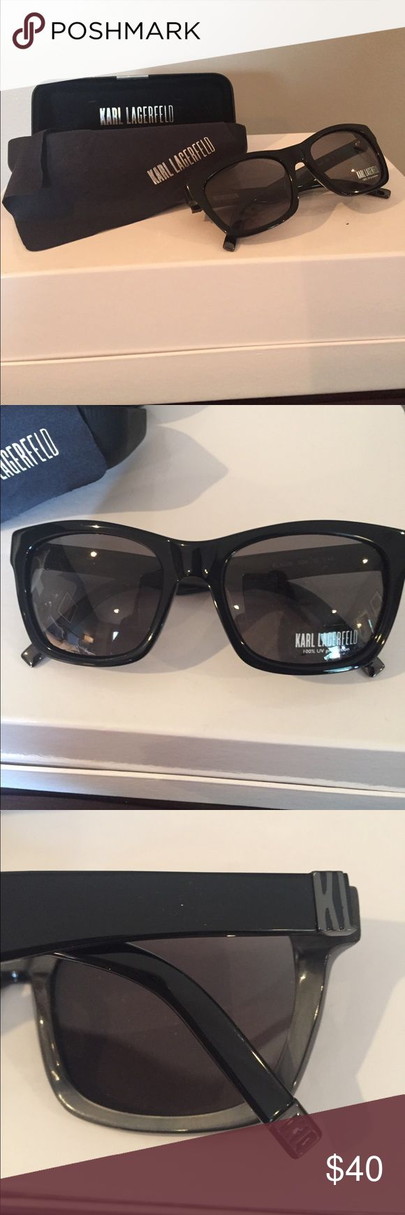 Karl Lagerfeld Sunglasses NWT Karl Lagerfeld Sunglasses NWT No Issues Never Been Worn purchased but just not wearing. Karl Lagerfeld Accessories Sunglasses