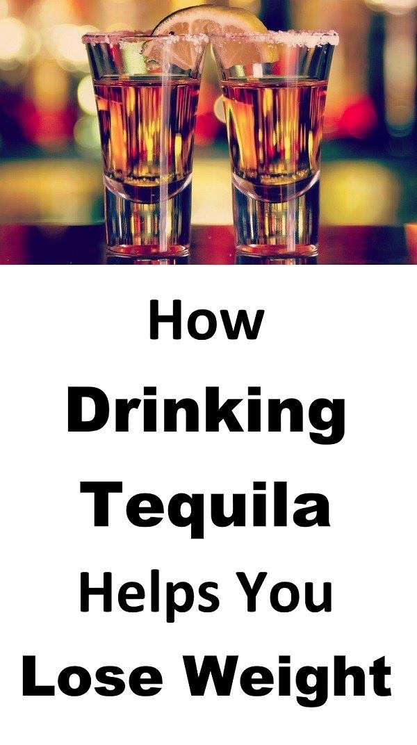 tequila help you lose weight