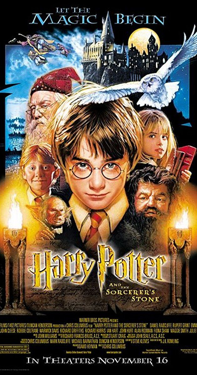 Directed By Chris Columbus With Daniel Radcliffe Rupert Grint Richard Harris Maggie Smith Harry Potter Movie Posters Harry Potter Movies Harry Potter Cast