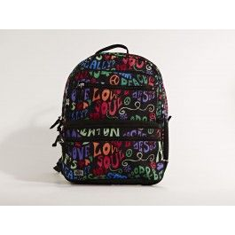 New schoolbag with cool print by Jeva - one of the best schoolbag creators in Denmark!