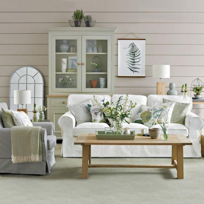▷ 1001 + ideas sobre decoración salón gris y blanco | Salones ...