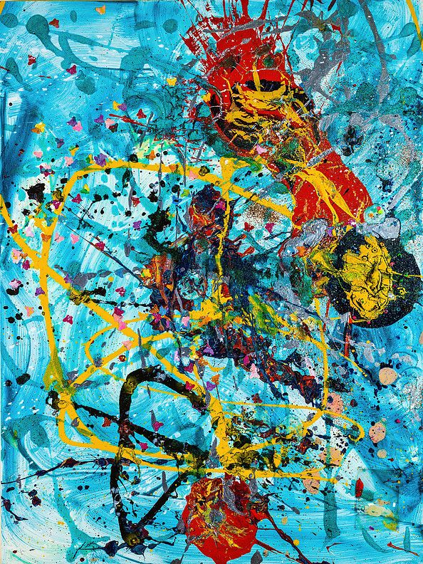 aelita andre art abstract expressionist painter prodigy | 2014