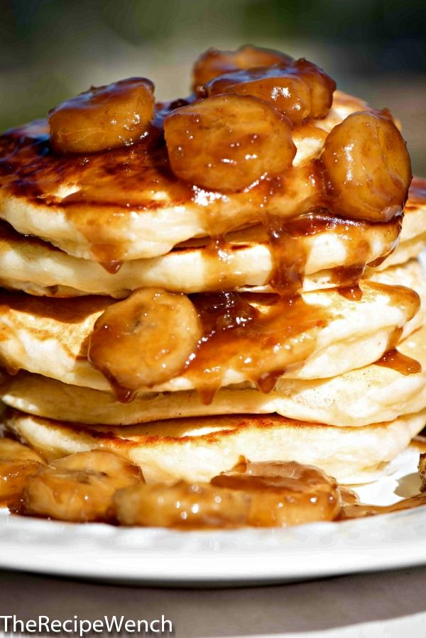 Easy Caramelized Banana Topping -- fantastic over pancakes or ice cream! - The Recipe Wench