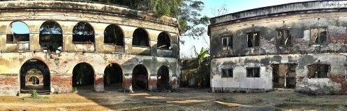 Benteng Pendem, Ngawi, Jawa Tengah, Indonesia.