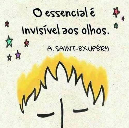 pequeno principe - saint-exupery. El principito, lo esencial es invisible para los ojos en portugués.