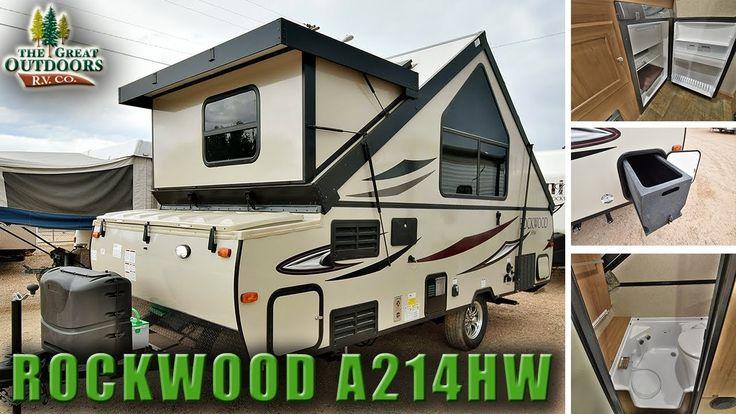 New Pop Up Camper RV 2018 ROCKWOOD A214HW Colorado Dealer