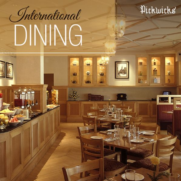 Start your day with a hearty meal at Pickwicks, our multi-cuisine restaurant!