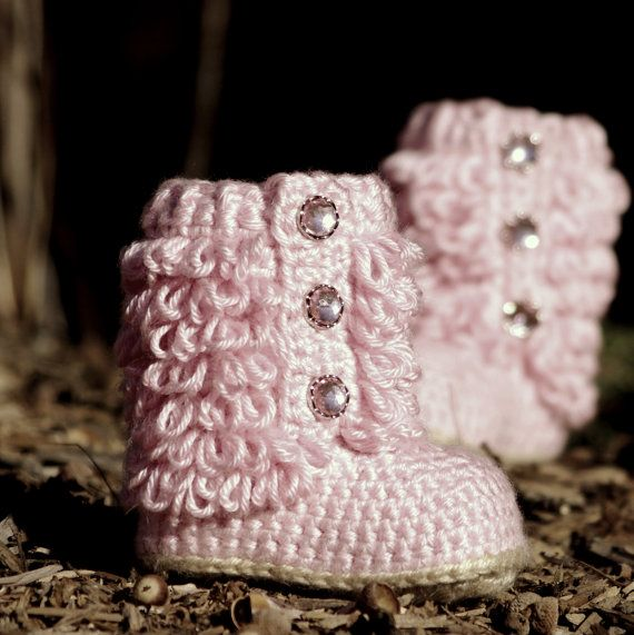 Crochet Pattern Little Diva Boot TODDLER sizes 4 - 9  - Pattern number 201.