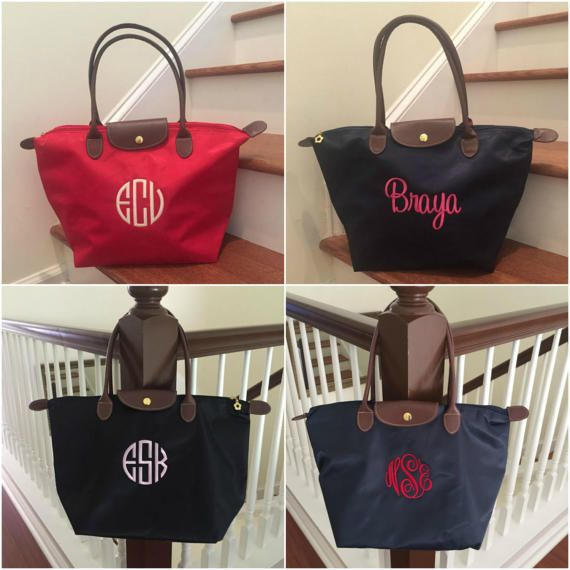 Monogrammed tote bag - personalized bridesmaid tote in lots of fun colors and monogrammed for a special day!  For tote/wristlet set http://etsy.me/2fhXpQL  =====================================================&#x...