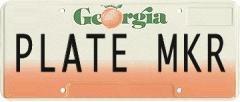 Generate License Plates