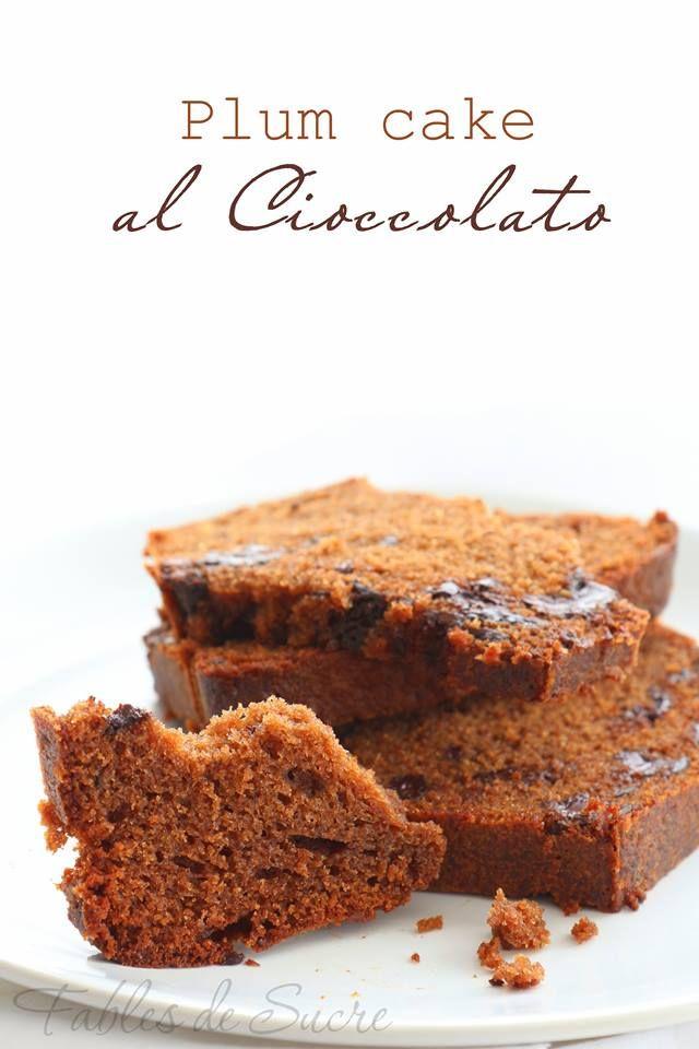 Plum cake al cioccolato fondente di Iginio Massari, semplice capolavoro della moderna pasticceria italiana, ideale ad ogni ora del giorno
