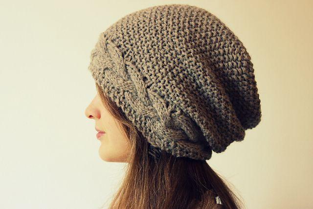 Knit Beanie Pattern Ravelry : Ravelry: Wavy Moss Hats and Headband pattern by Cedar Box Knits Knitting ...