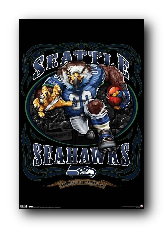 Seattle Seahawks Art