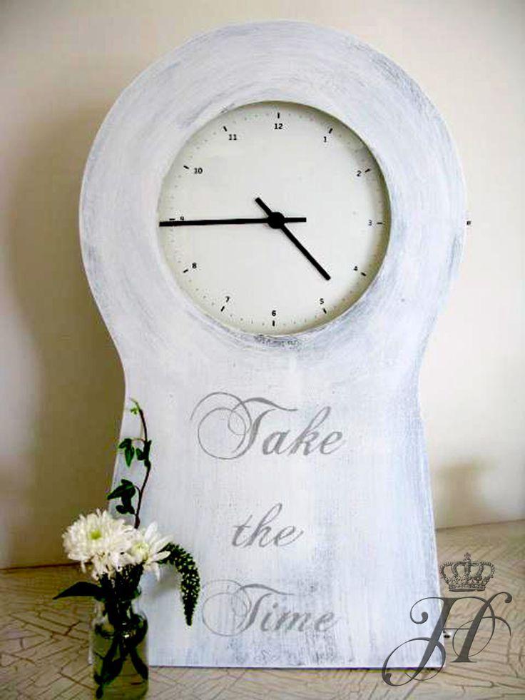 Home No,1 Design. Handpainted clock