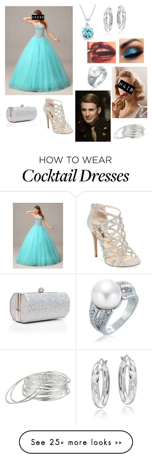 """Prom with Captain America"" by potterhead212 on Polyvore featuring мода, Bling Jewelry, INC International Concepts, Mondevio, Lauren Ralph Lauren, J. Furmani и avengerprom"