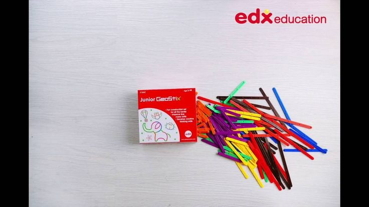 Junior GeoStix #edxeducation #motorskills #learningisfun