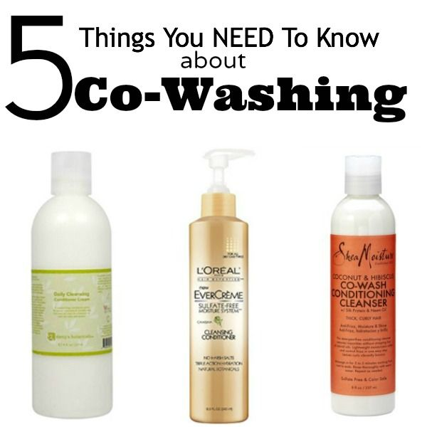 5 Things You Need To Know About Co-Washing -- washing your hair with just conditioner!