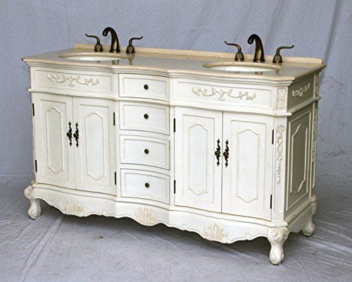 Best Photo Gallery For Website  Inch Antique Style Double Sink Bathroom Vanity Model BE