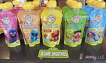 These would be perfect snacks for Tezi's Elmo themed first birthday considering most if his buddies are lacking in the tooth department!