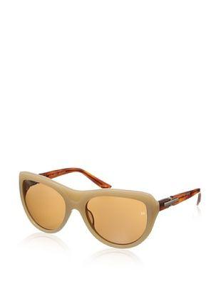 68% OFF Nina Ricci Women's NR3718 Sunglasses, Brown/Cream