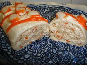 .: Enrollados de atún y cangrejo con pan de molde