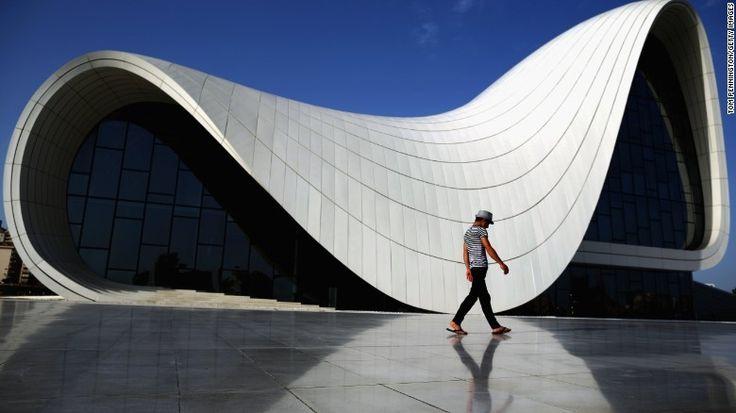 Centre Heydar Aliyev, Baku, Azerbaijan