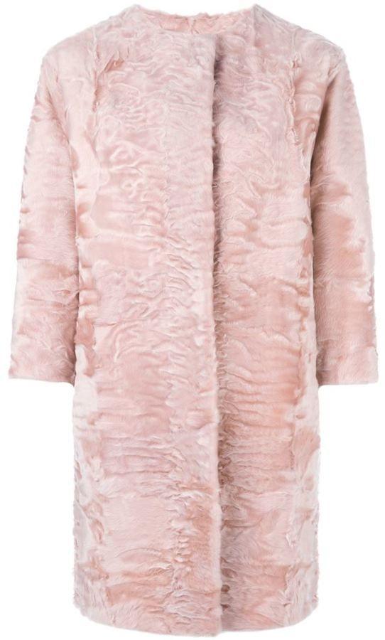Liska lamb fur coat