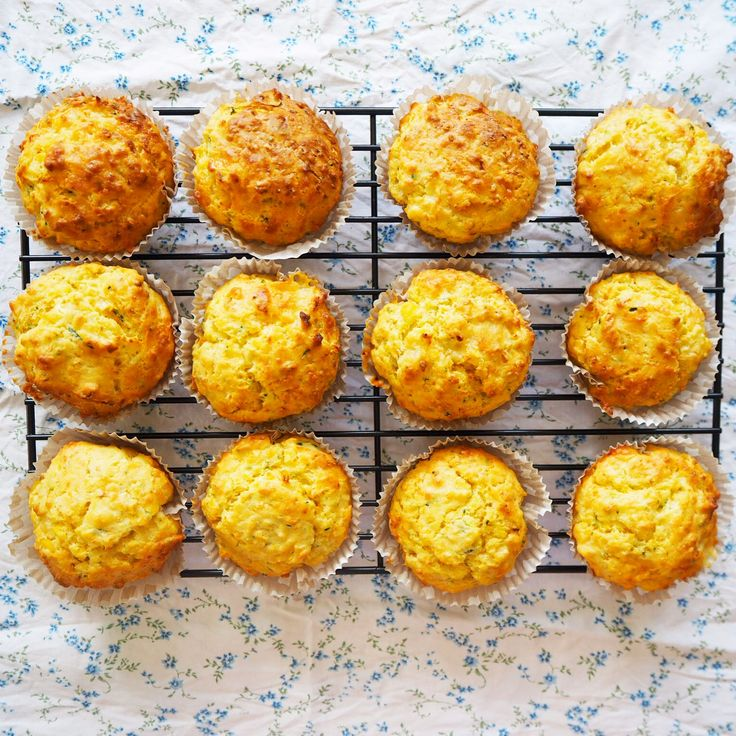 savoury muffins - carrot, Zuccini and corn