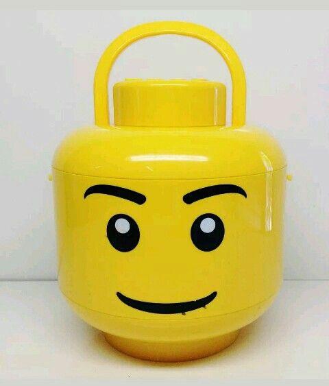 Lego head shape sorter snd storage tub. http://www.ebay.com.au/itm/253223474971